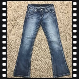 Express Low-rise Boot cut Jeans Size 2 Short